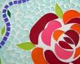 mosaic flower - online